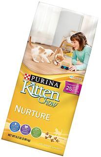 Purina Kitten Chow Dry Kitten Food, Nurture, 6.3 Pound Bag,