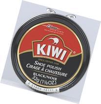 New Kiwi 10111 1 1/8 Oz Can Kiwi Black Shoe Polish Paste