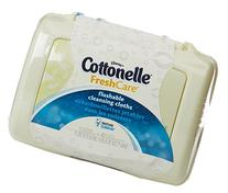 Kleenex Cottonelle FreshCare Flushable Cleansing Cloths , 42