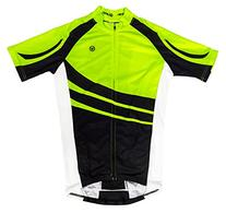 Canari Cyclewear Men's Klipspringer Jersey, Killer Yellow,