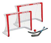 Bauer Knee Hockey Goal Set , Red