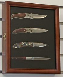 Knife display case searchub knife display case shadow box with glass door wall planetlyrics