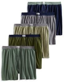 Fruit Of The Loom Men's 6 Pack Knit Boxers - Assorted - XX-