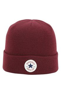 Men's Converse 'Core' Knit Cap - Burgundy