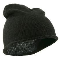 Children Knitting Hat - Black