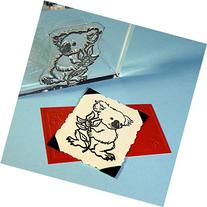 "Koala Bear Stamp, clear polymer cling 2.25""x1.75"", includes"