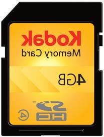 Kodak SDHC 4GB Class 4 Flash Memory Card KSD4GBPSBNA