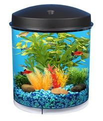 Koller Products AquaView 2-Gallon 360 Fish Tank with Power