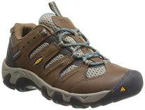 KEEN Women's Koven Hiking Shoe,Dark Earth/Capri Breeze,8 M