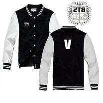 KPOP Bangtan Boys Jacket + 1pc Badge BTS unisex goods New