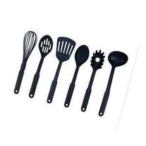 Maxam KT6 6 pieces Nylon Kitchen Tool Set