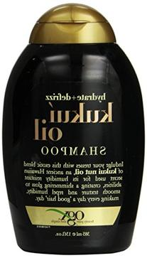 OGX Kukui Oil Shampoo, Hydrate Plus Defrizz, 13 Ounce