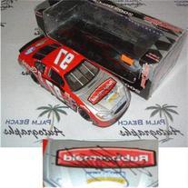 Kurt Busch Autographed Rubbermaid #97  1/24 Diecast Car