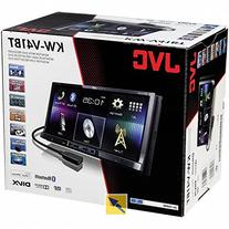 "JVC KW-V41BT 2 Din Bluetooth Car DVD Receiver 7"" Monitor w"