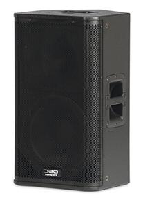 QSC KW122 2-Way Powered Loudspeaker - 1000 Watts, 1x12
