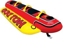 Hot Dog 3 Person Ride on Towable