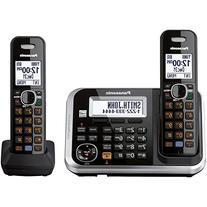 Panasonic KX-TG6842B dect_6.0 2-Handset Landline Telephone