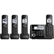 Panasonic KXTGF344B Dect 4-Handset Landline Telephone