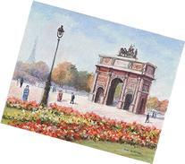 L'Arc de Triomphe du Carrousel et la Tour Effel dans le