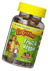 L'il Critters Fruit & Veggie Bears Dietary Supplement,