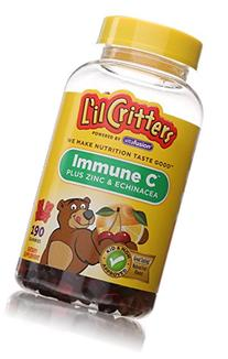 L'il Critters Immune C Plus Zinc and Echinacea with Vitamin