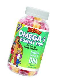 L'il Critters Omega-3 Gummy Fish - 120 ct