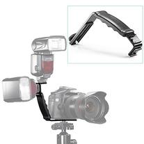 Neewer L-Shape Bracket Holder for Flash Light Camera Mini DV