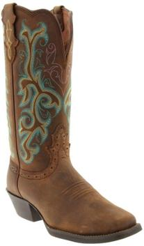 "Justin Boots Women's Stampede Collection 12"" Boot Wide"