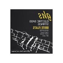 Ghs L3075 Brite Flats Flatwound Electric Bass Strings
