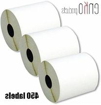 enKo Products 4x6 Direct Thermal Printing White Self-