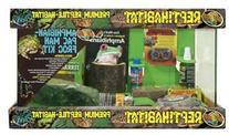 Zoo Med Laboratories SZMNTA10 Reptihabitat Amphibian/Pac Man
