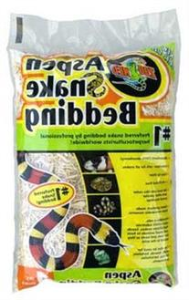 Zoo Med Laboratories SZMSB1 Aspen Snake Bedding, 1 Quart
