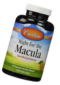 Carlson Labs Right for The Macula To Promote Healthy Vision