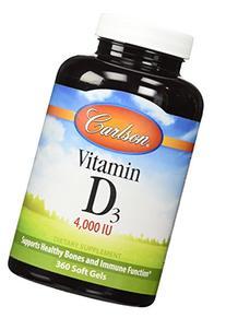 Carlson Labs - Vitamin D3 4000 IU - 360 Softgels