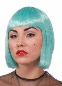 Lady Gaga Adult Wig, Turquoise, Adult
