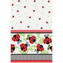 Ladybug Party Plastic Tablecloth 84