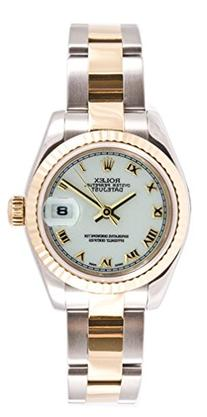 Rolex Ladys 179173 Datejust Steel & 18k Gold, Oyster Band,