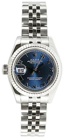 Rolex Ladys 179174 Datejust Stainless Steel Jubilee Band,