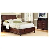 Lafayette 2 Piece Sleigh Bedroom Collection - Size: King