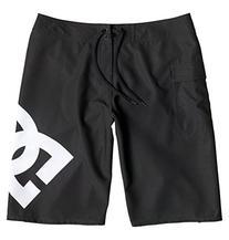 DC Men's Lanai 22 Inch Boardshort Swim Trunk, Black, 31
