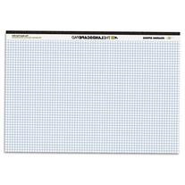 ** Landscape Format Writing Pad, Quad Ruled, 11 x 9-1/2,