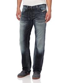 Diesel Men's Larkee Regular Straight Leg Jean 0885K, Denim,