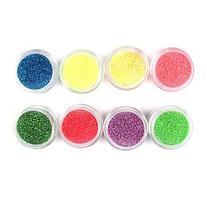 EVERMARKET 1PCS Laser Glitter Acrylic Powder For 3D Nail Art