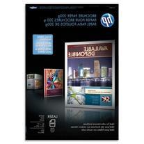 -- Laser Matte Brochure Paper, 52 lb., 8-1/2 x 11, White,