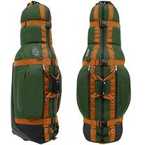 Club Glove The Last Bag Travel Cover Green w/ Copper Webbing