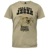 Lynyrd Skynyrd - Last Rebel Soft Tan T-Shirt