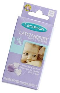 Lansinoh LatchAssist Nipple Everter, 1 Count, 2 Flange Sizes