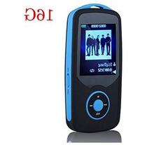 HONGYU Latest Portable Hi-Fi 16GB Bluetooth MP3 Player with