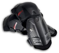 Fox Racing Launch Shorty Knee Guards Black, One Size