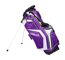 Women's Hot Launch Stand Bags, Purple/White